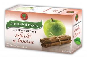 Чай ябълка и канела