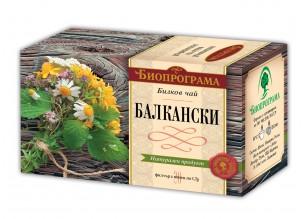 Балкански чай